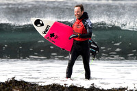 Scottish Surfing Championships 2016 at Thurso East