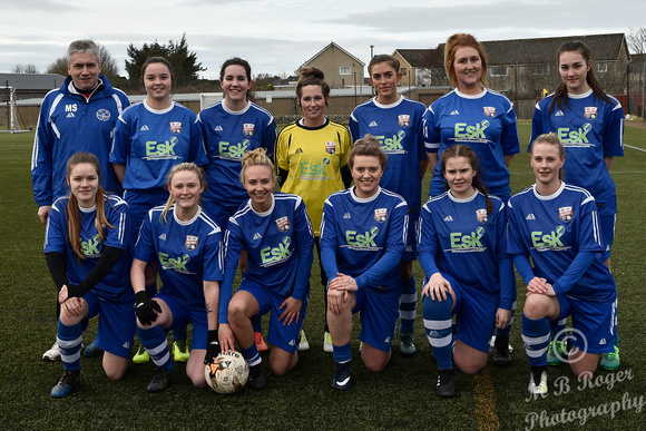 Caithness Ladies 0 v Montrose 19 Scottish League 2nd Div - Thurs