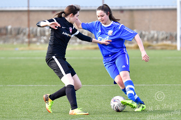 Caithness Ladies 0 v Montrose 19  - Scottish League North Divisi