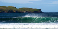Surfing off Thurso East